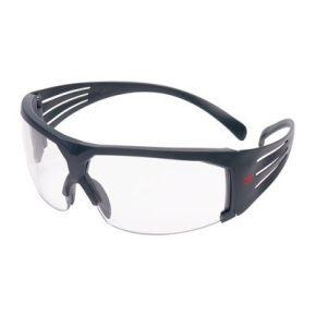 3M™ SecureFit™ Veiligheidsbrillen, Grijsframe, Scotchgard™ Anticondens, Grijs