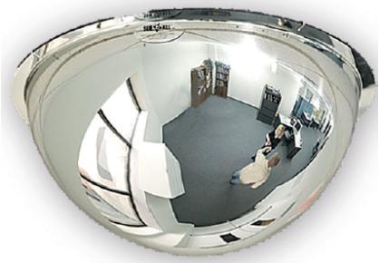 Bolle spiegel 1/2 observatiespiegel diameter 60 cm