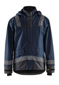 Regenjas Level 2 4322 Donker marineblauw/Zwart