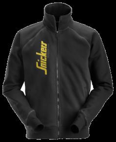 Logo Full Zip vest zwart