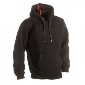 Hesus hooded sweater zwart