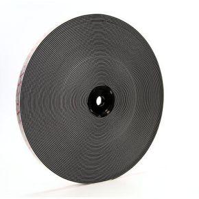 3m dual lock hersluitbare klikband zwart 25mmx2,5m