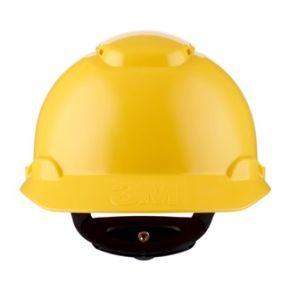 H-700N-GU veiligheidshelm geel , geventileerd