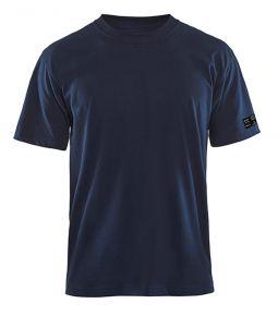 Vlamvertragend T-shirt 3482 Marineblauw4XL