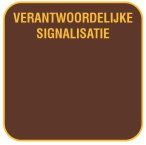Verkeersbord 'Verantwoordelijke signalisatie'