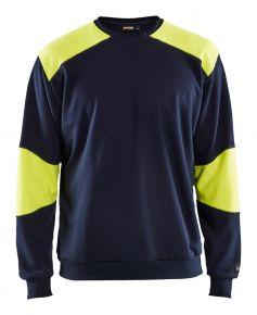 Vlamvertragend sweatshirt Marine/High