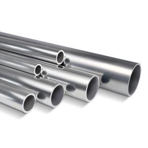 Aluminium buis, dia 40mm, lengte 6m (transport op aanvraag)