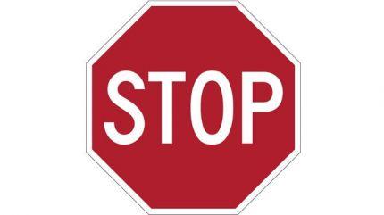 Verkeersbord STOP