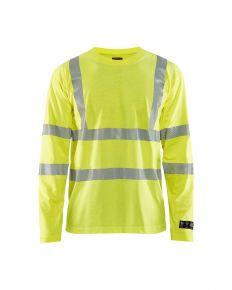 Multinorm T-shirt lange mouw 3481 Geel