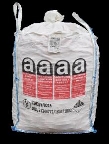 Big Bag voor asbest 90x90x100cm1000kg met slurf en hijslussen