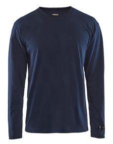 Antiflame shirt LS navy