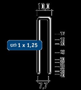 Nieten G4450 staal-galva
