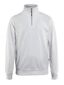 Sweatshirt met halve rits 3369