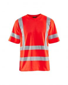 UV-T-Shirt High Vis 8947 Fluor Rood