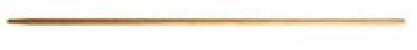 De Pypere harksteel gepunt 150 cm dia 28 mm