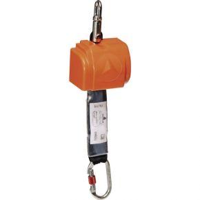 Valstop met automatische lijnspanner met energie-absorber - 2,5m