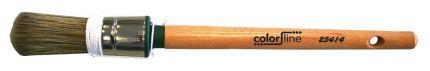 Borstel Polyester-Varkenshaargelakte houtsteel nr.14