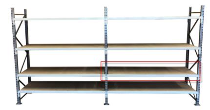 Manorack spaanplaat 1800 x 600mm