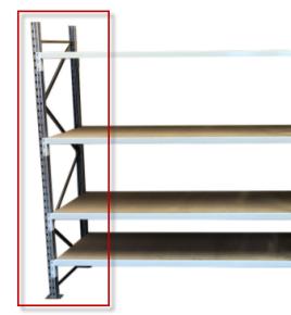 Manorack frame Hoogte 2m x Breedte 600mm