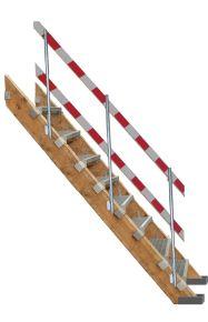 Stop voor trede bouwtrap