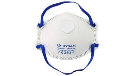 FFP3 masker met ventiel Rysam (doos van 10 stuks)