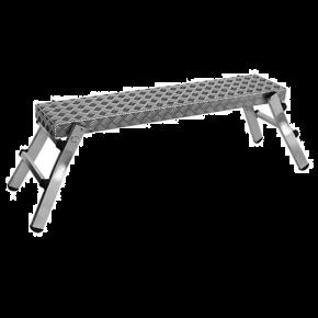 Klapbaar werkplatform aluminium
