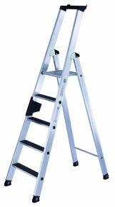 'Clip Step' 6 treden, stahoogte 1m40