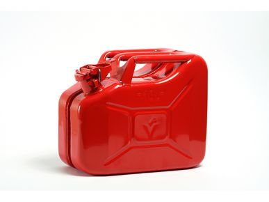 Jerrycan metaal 10L rood