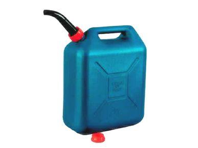 Jerrycan 20L blauw metaalkleur