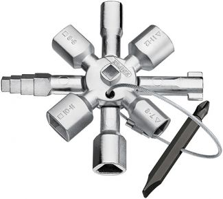 Knipex TwinKey schakelkastsleutel