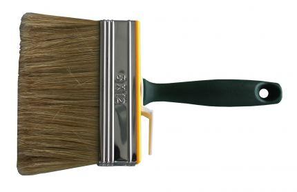 Latexborstel lang, wit varkenshaar40x140mm