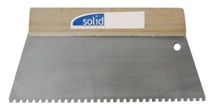 Lijmkam met houten greep 250mm 6 X 6mm