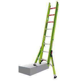 Jumbo Hyperlite kunststof ladder 2 x 8 sporten