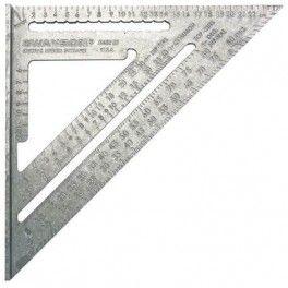 Multifunctionele metrische winkelhaak 25cm