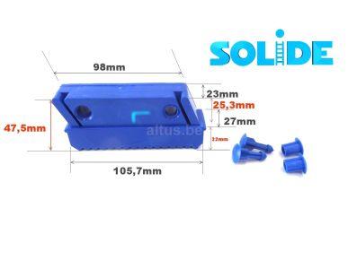 Voet 100 mm voor trapladder Solide RECHTS