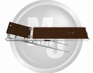 Uc Vlonder 2,57 X 0,61 Ladder