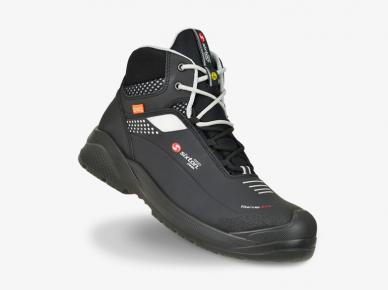 Sixton Peak Forza High Zwart/Grijs, veter hoog, Green air 3D, ESD, S3