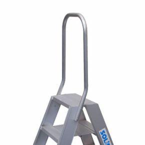 Solide vaste beugel voor dubbele trap
