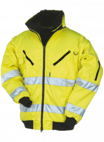 Sign. Pilot Jacket Geel