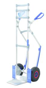 Trappensteekwagen aluminium hoogte 1m50
