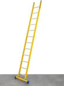 enkele GVK ladder 22 alu sporten met stabibalk
