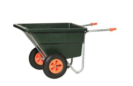Landbouwkruiwagen TG172PE 2 volle wielenPP velg rollager