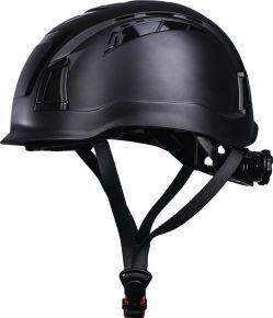 Veiligheidshelm D!-rock zwart ABS Promat