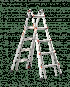 Jumbo Little Giant telescopische ladder velocity 4x5